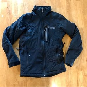 Columbia Titanium S Black Omni-Heat Jacket Women's